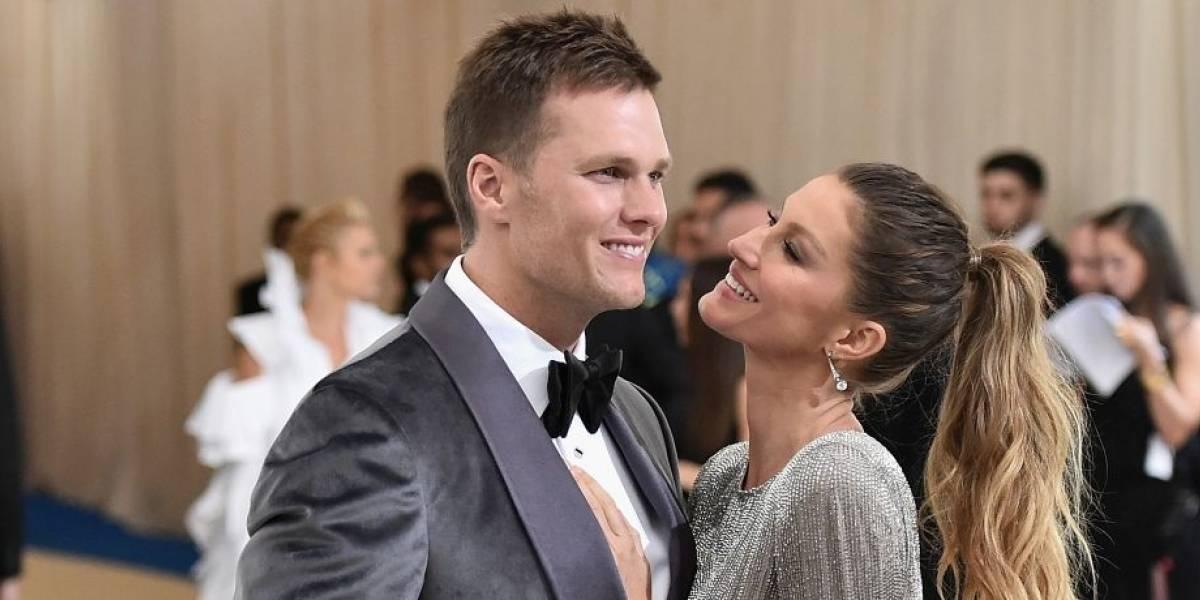 Con una tierna foto, Gisele Bündchen le demuestra su apoyo a Tom Brady