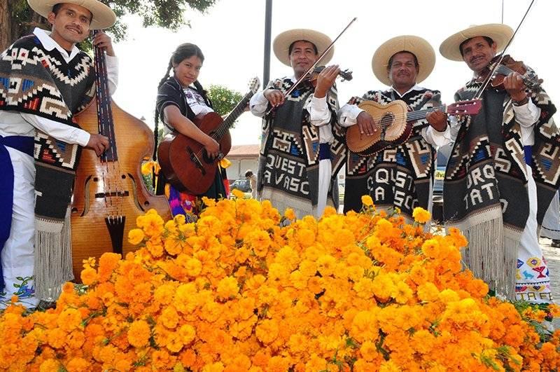 La Pirekua. Canto Tradicional Purépecha. Foto: Cortesía INAH