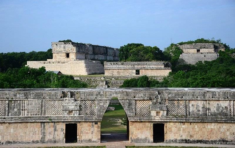 Zona Arqueológica de Uxmal, Yucatán. Foto: Cortesía INAH
