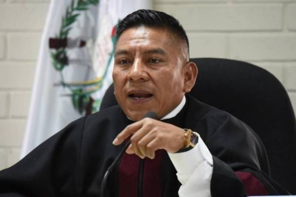 Pablo Xitumul, juez
