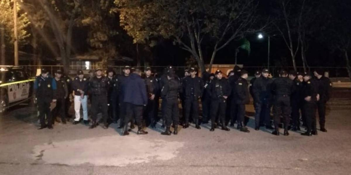 Denuncian represión por agentes de la PNC