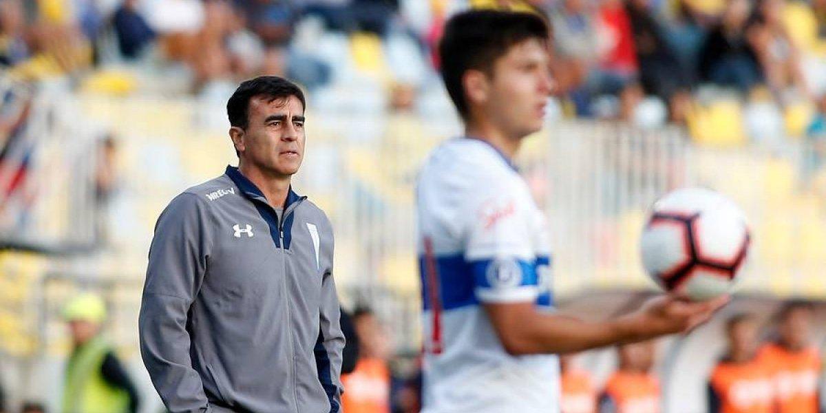 """La conformidad de Gustavo Quinteros en la UC: """"Jugando de esta manera, el equipo sacará buenos resultados"""""""