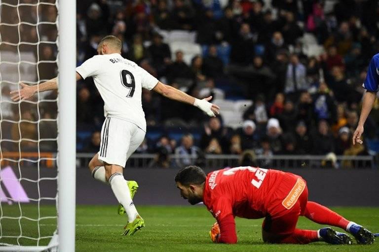 Gol de Karim Benzema contra el Alavés