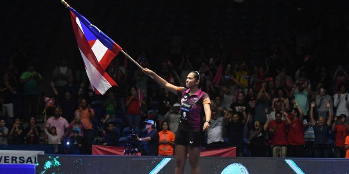 ¡Orgullo utuadeño! Adriana Díaz se corona en la Copa ITTF