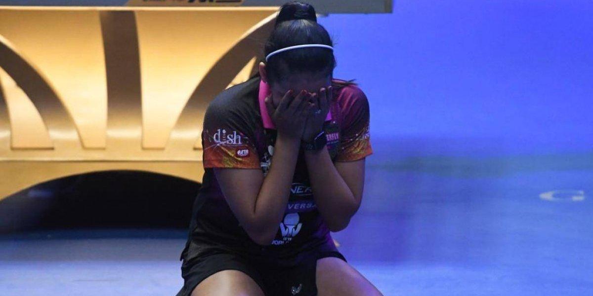 Esto sí es tenis de mesa: Adriana Díaz brilla con oro en Copa ITTF