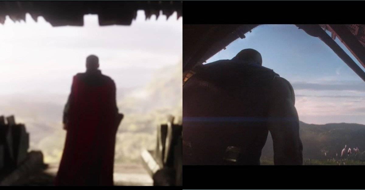 Thor y Thanos