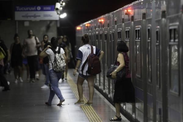 Metrô São Paulo plataforma