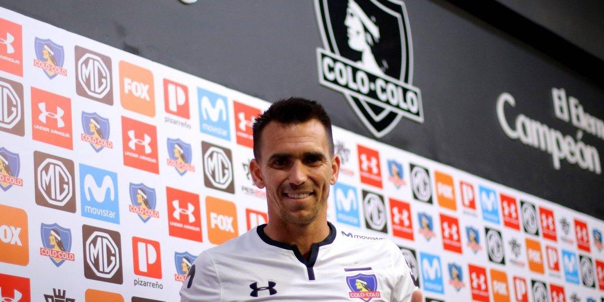 """Pablo Mouche presenta sus credenciales: """"Soy un jugador que puede estar a la altura de Colo Colo"""""""