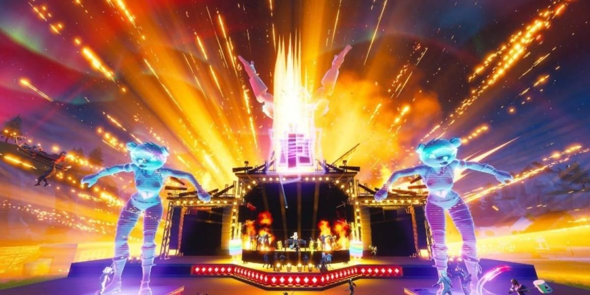 DJ Marshmello reuniu mais de 10 milhões de jogadores em um show virtual no Fortnite