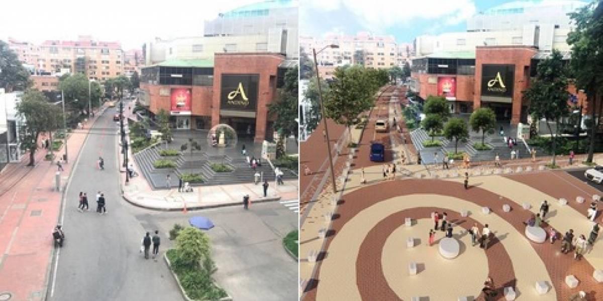 Iniciarán obras de revitalización de la Zona Rosa, en el norte de Bogotá