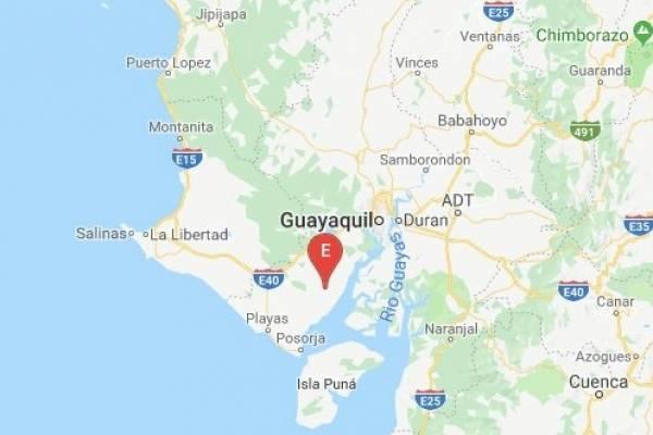 Sismo de 5.98 se registró en Playas, Guayas