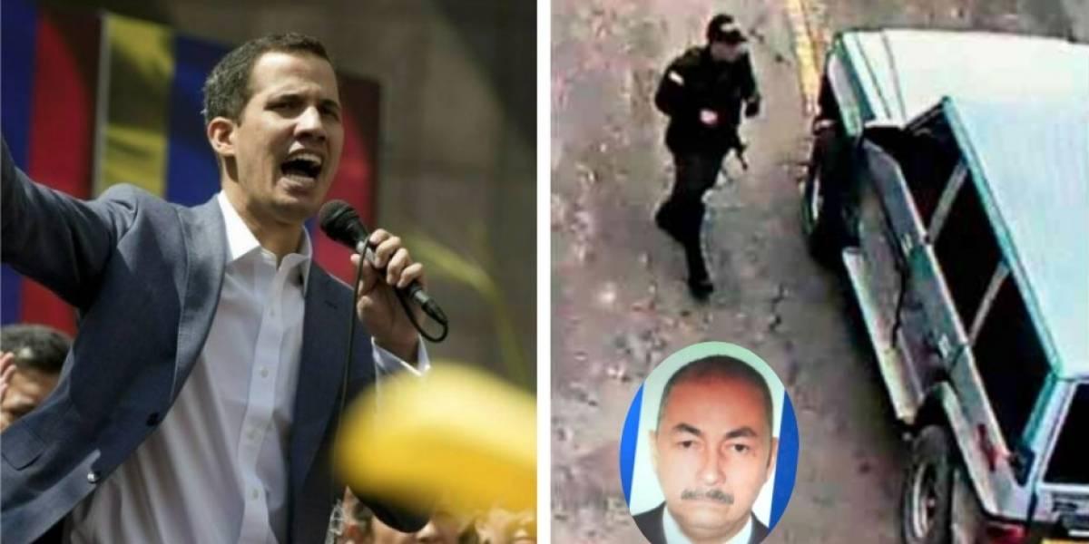 Guaidó entregó escalofriante declaración sobre carro bomba contra Escuela General Santander