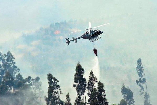 Incendio en Ancud