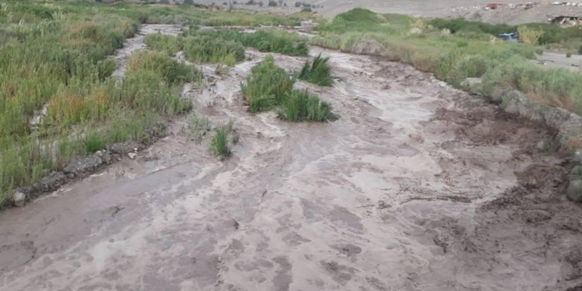 Intendente ordenó cierre en la Ruta 5: invierno altiplánico impacta con fuerza a Tarapacá