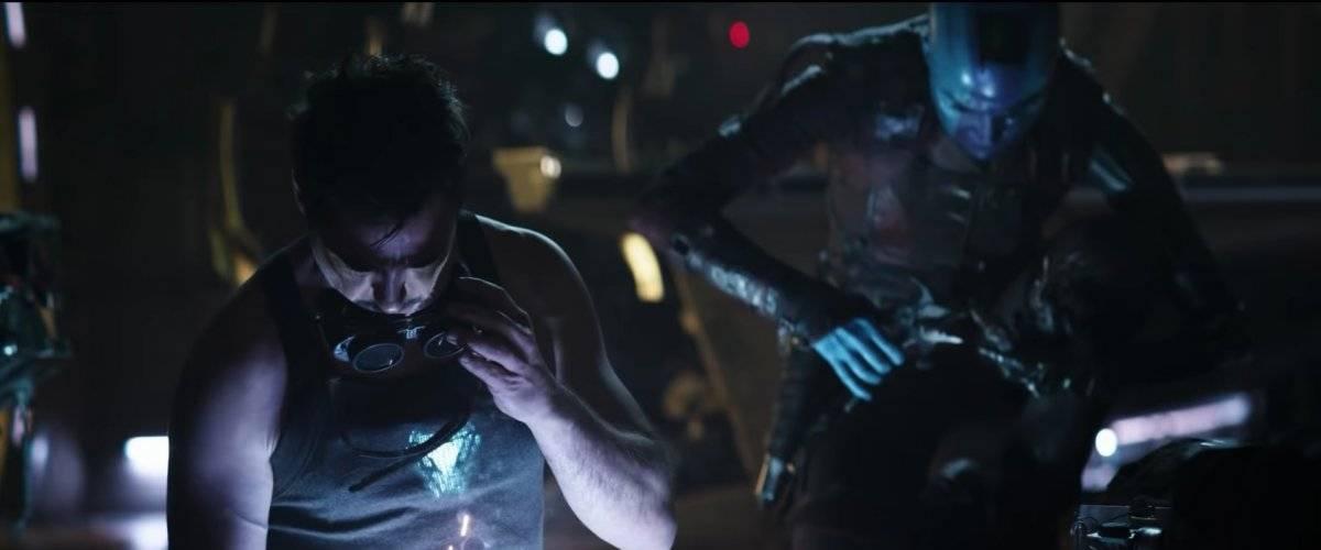 Iron Man y Nebula