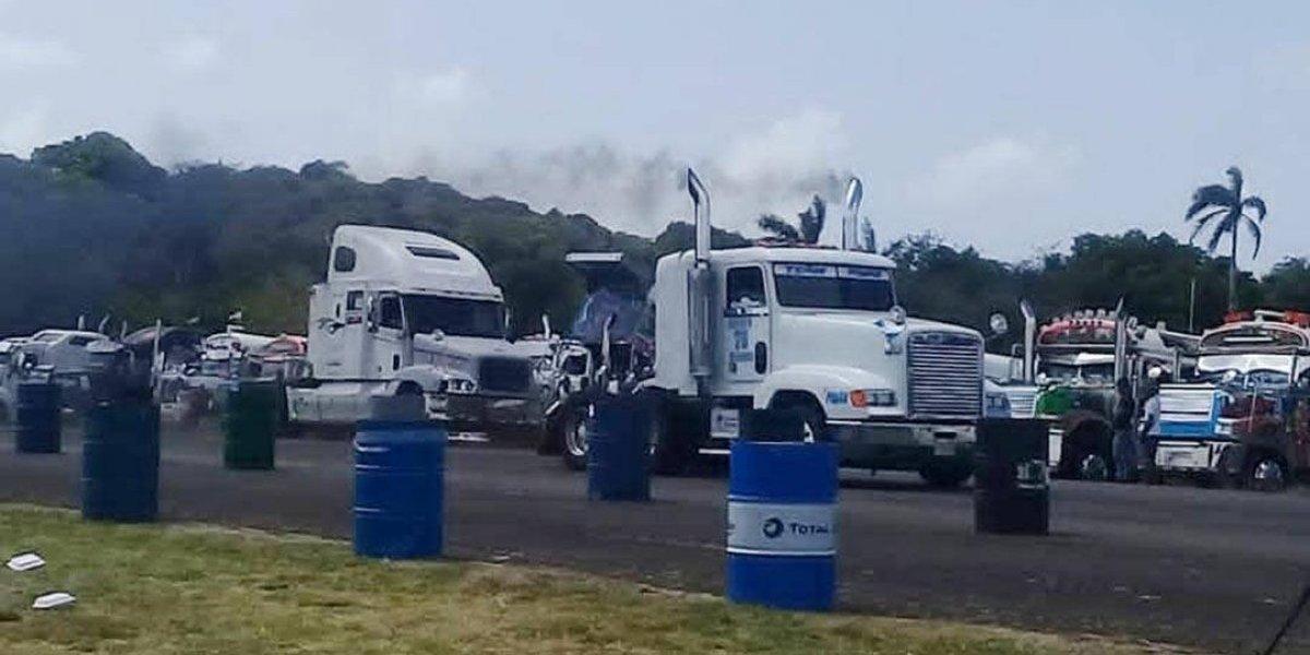 Guatemaltecos brillan en el Centroamericano de Camiones de Panamá