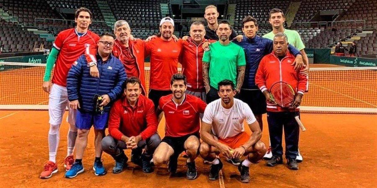 Chile integrará el tercer bombo de las finales de la Copa Davis y podría toparse con Rafael Nadal