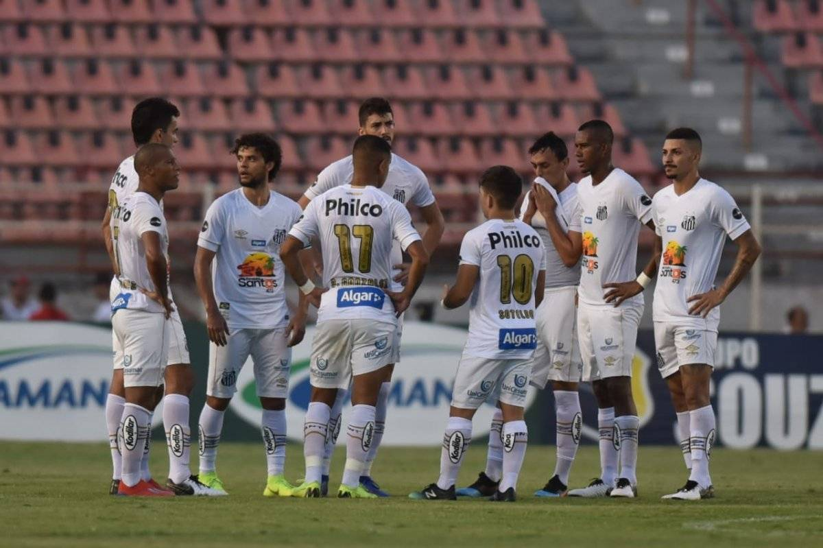 El Santos de Sampaoli tuvo una jornada para el olvido ante el modesto Ituano / Foto: Twitter