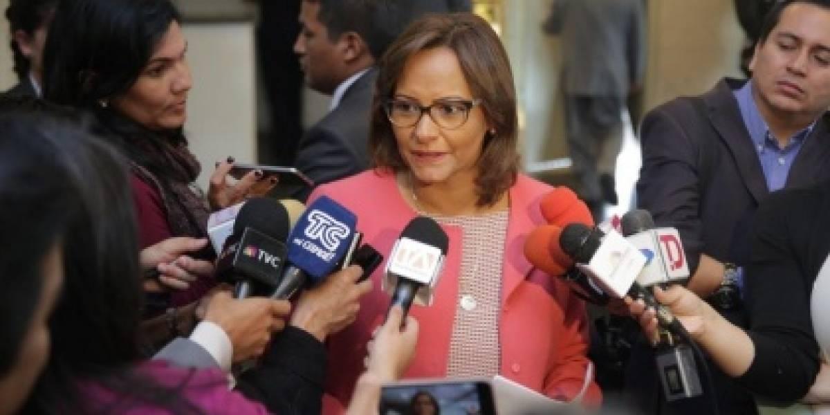 Asamblea Nacional votará el informe del caso de Ana Galarza el 7 de febrero