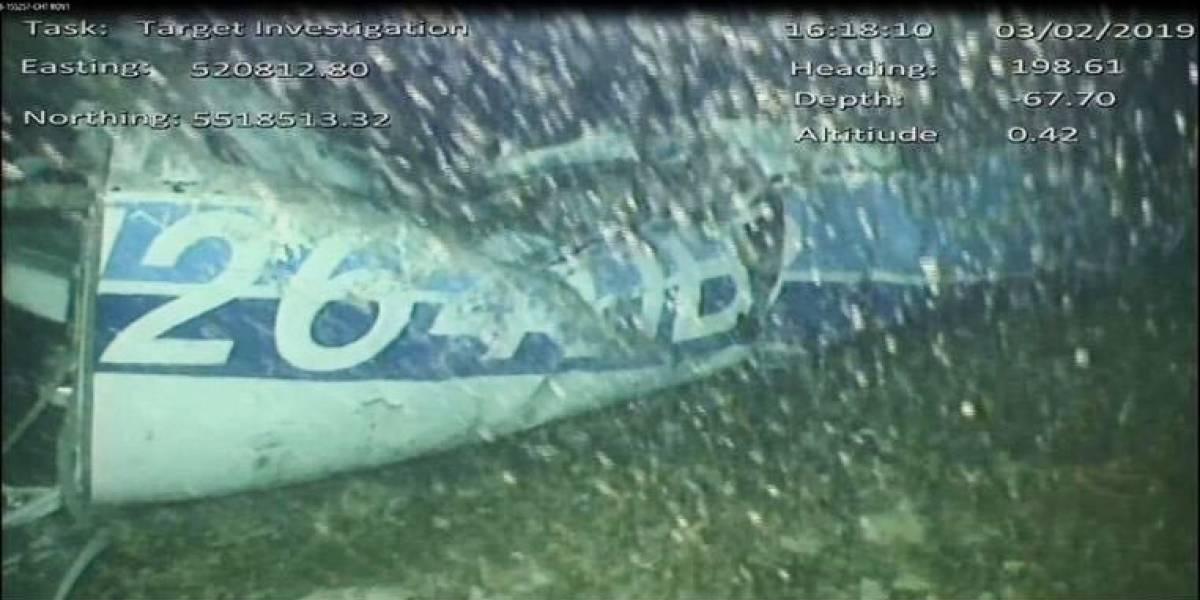 Hay un cuerpo dentro: Avioneta encontrada en el Canal de la Mancha era la que transportaba a Emiliano Sala
