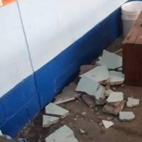 Escuelas afectadas por sismo