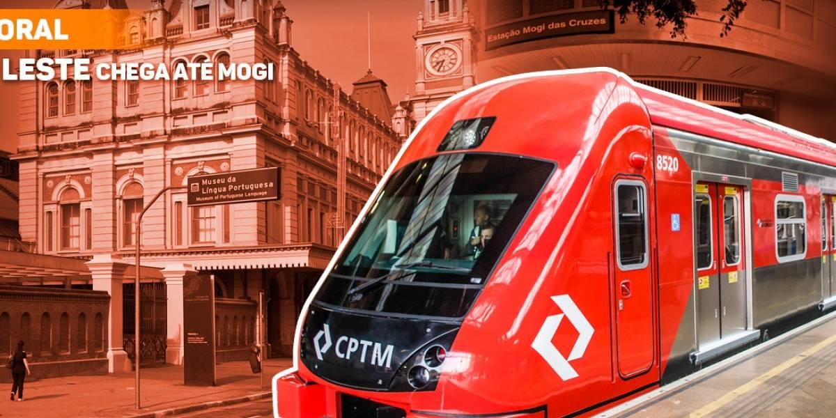 CPTM amplia funcionamento dos trens do Expresso Leste-Mogi