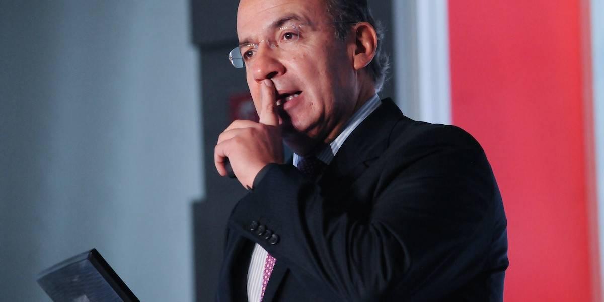 Calderón rechaza acusación de AMLO sobre tráfico de influencias