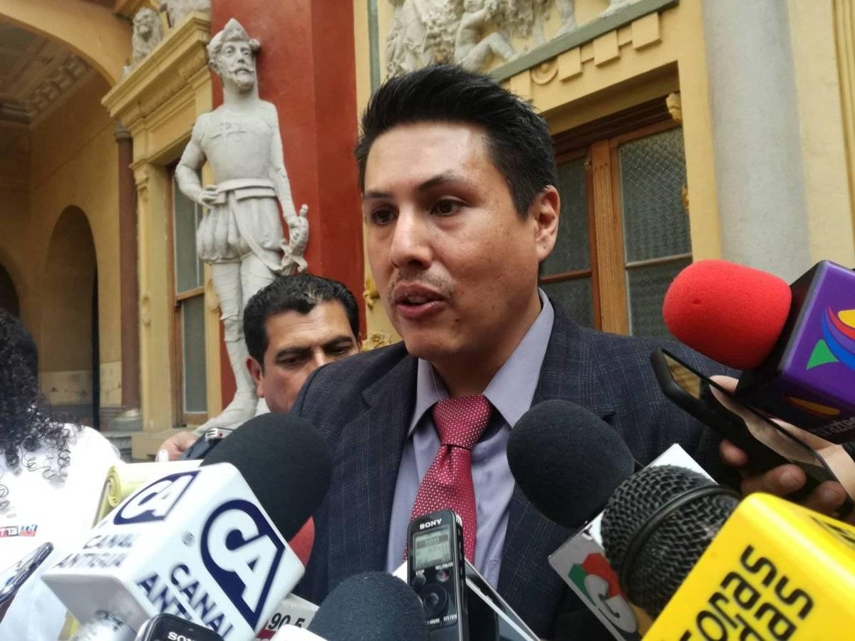 Óscar Schaad estará de vacaciones durante las elecciones. Foto: Saira Ramos