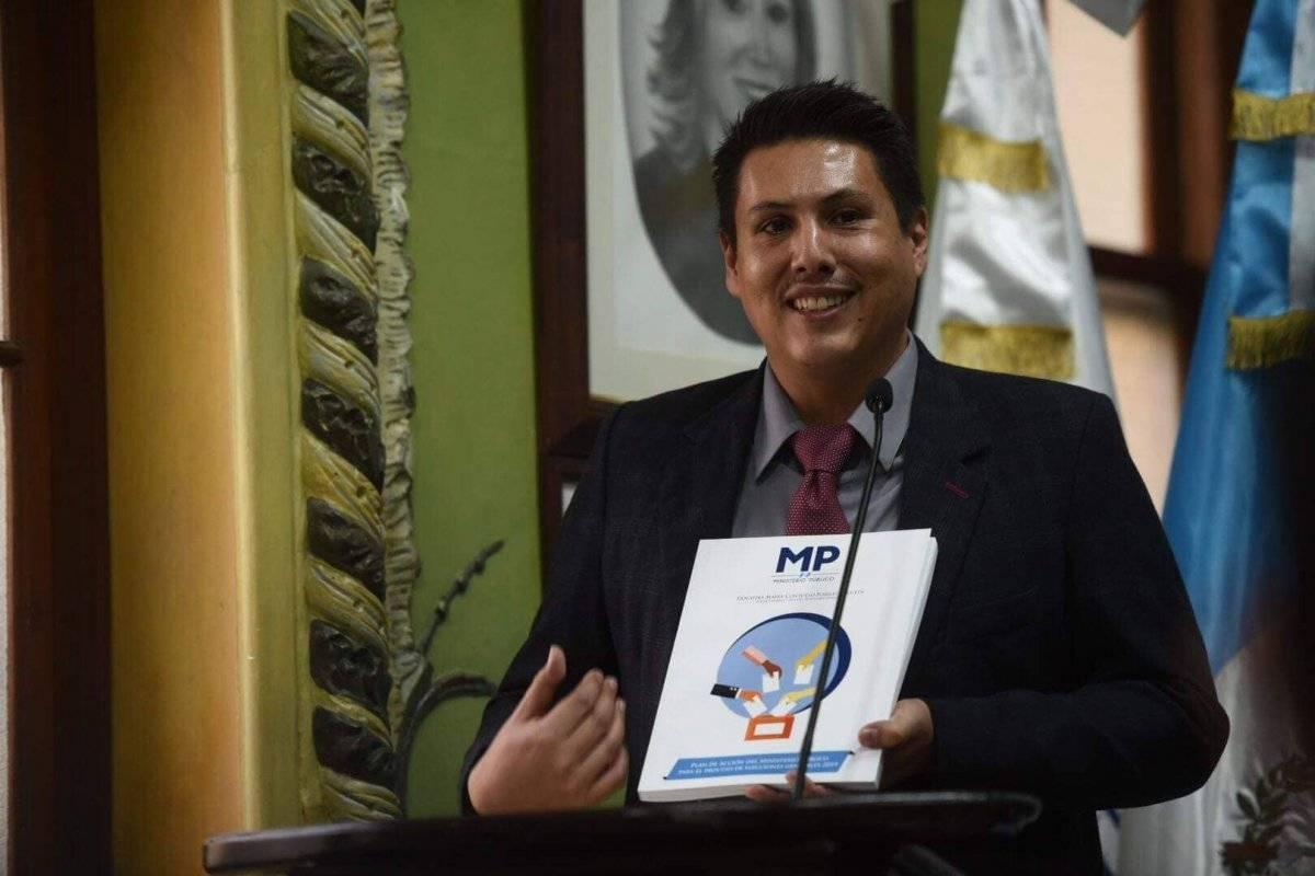 Óscar Schaad, jefe de la Fiscalía de Delitos Electorales