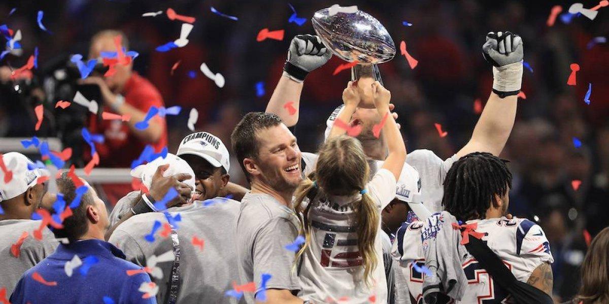 Tom Brady, Bill Belichick y Patriots conquistan su sexto anillo de SB
