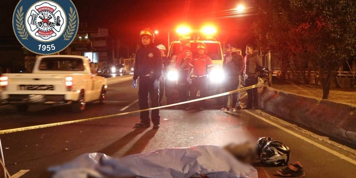 Dos motoristas mueren por accidentes de tránsito en distintos puntos de la capital
