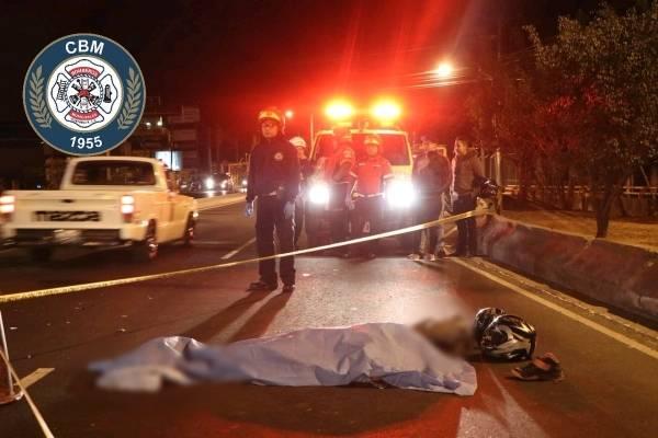 motorista muere en accidente en zona 18