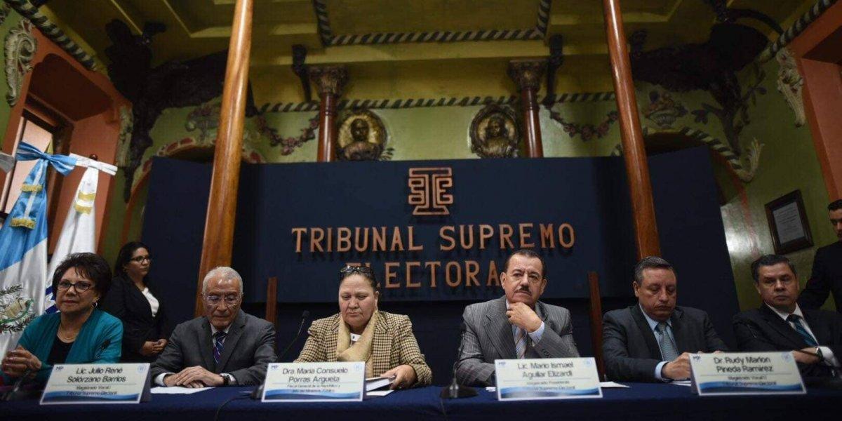 Ministerio Público y TSE instan a denunciar delitos electorales