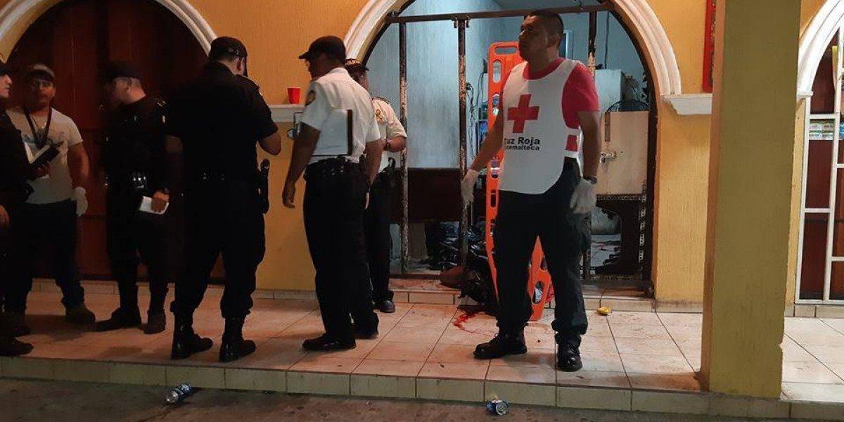 Ataques armados cobran cinco vidas en Retalhuleu