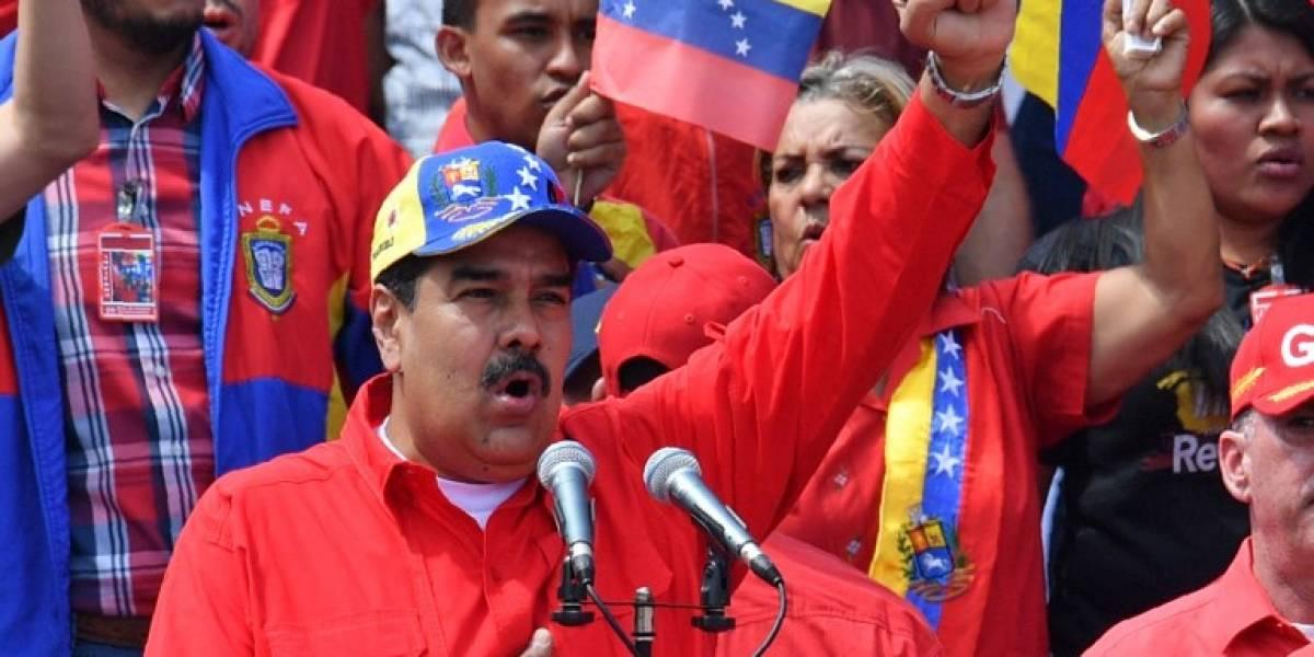 """Maduro tilda de """"pelele al servicio de Trump"""" al jefe del gobierno español"""