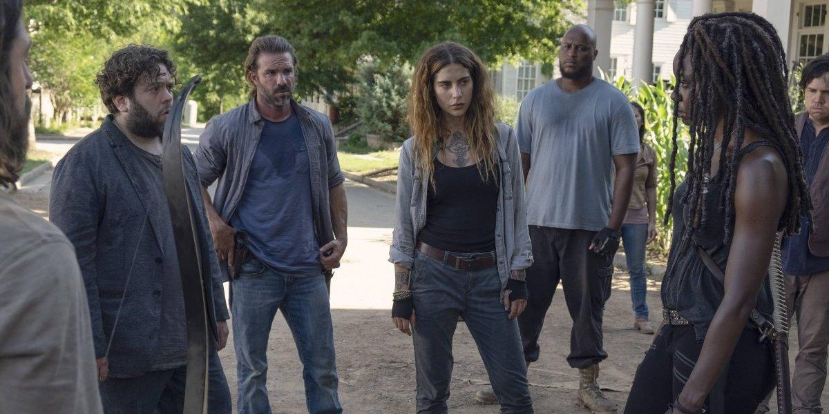 """Nadia Hilker de """"The Walking Dead"""": """"Estamos retratando el mundo real"""""""