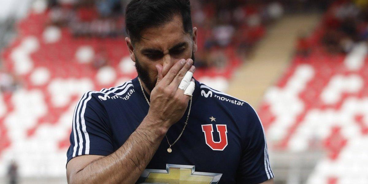 """Johnny Herrera se confiesa: """"Tenía un acuerdo para salir de la U en diciembre pasado, estaba desgastado"""""""