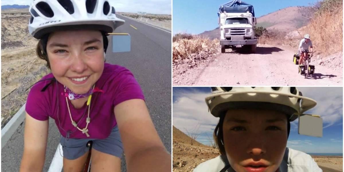 Atracan en Colombia a turista canadiense que venía recorriendo América en bicicleta
