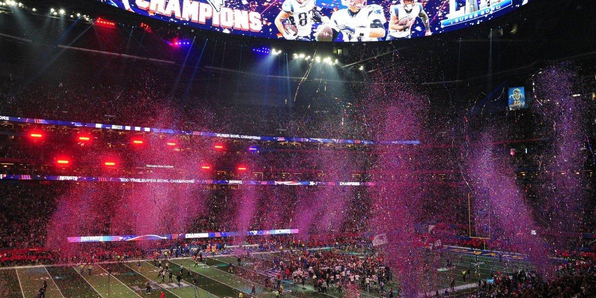 Super Bowl LIII registra el peor rating de los últimos diez años