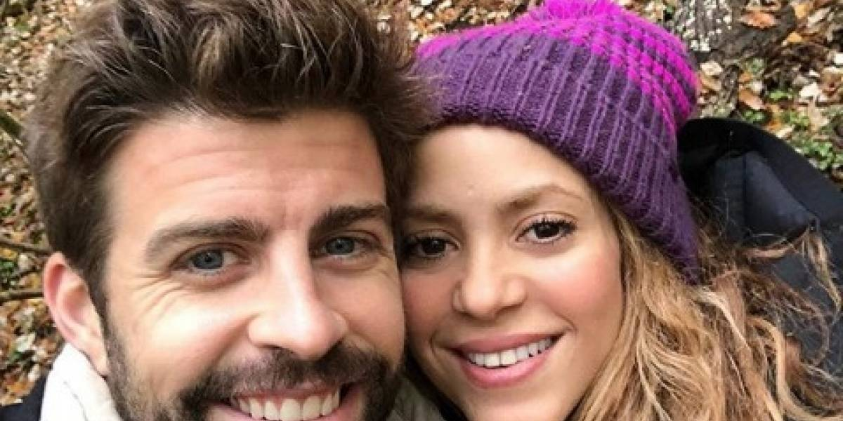 Las románticas fotos que Shakira compartió con Gerard Piqué