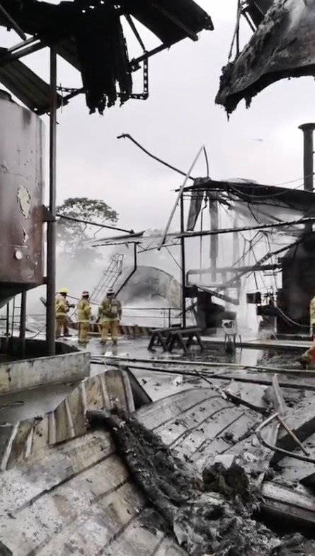 Santo Domingo: Se reporta incendio en el sector Jardines del Edén Cortesía