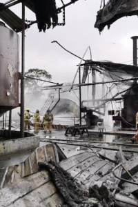 Santo Domingo: Se reporta incendio en el sector Jardines del Edén
