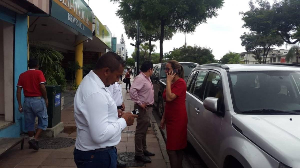 Evacuan edificios en Guayaquil Metro Ecuador