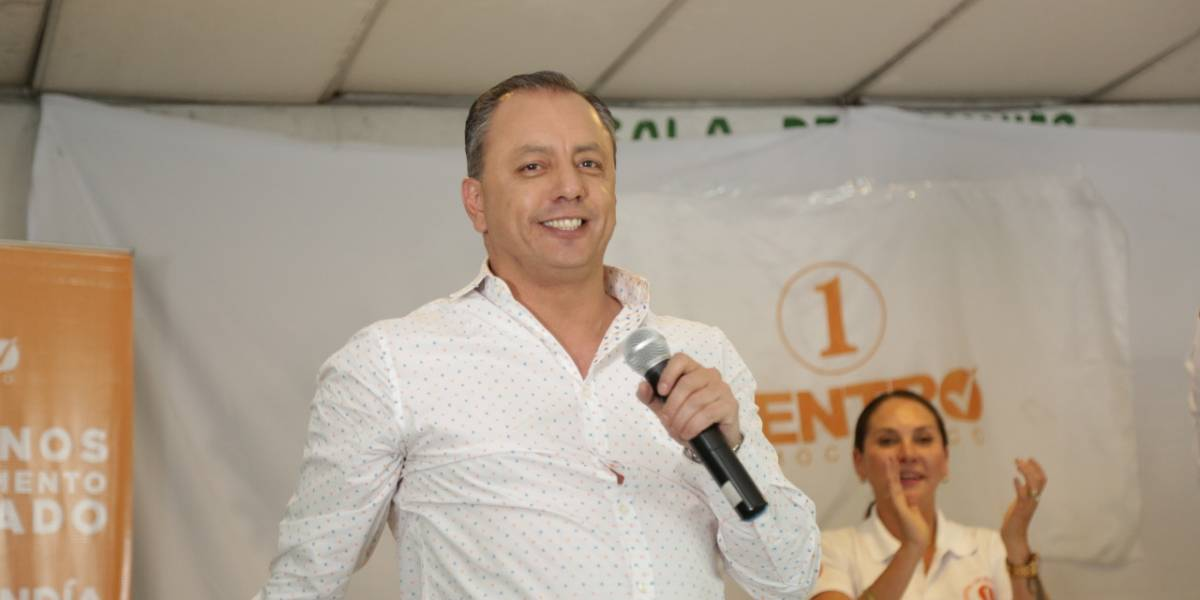 Candidato a la Alcaldía de Quito, Xavier Buendía, exigirá la paralización de la construcción del Metro