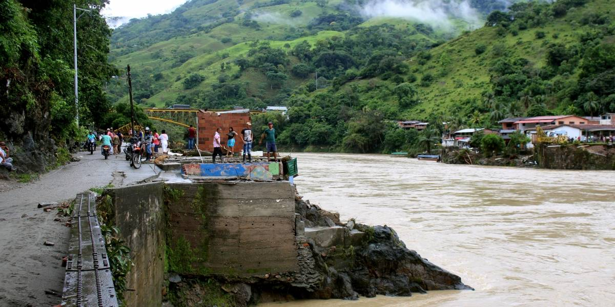 Esta es la fake news con una foto que circula en redes sobre el río Cauca