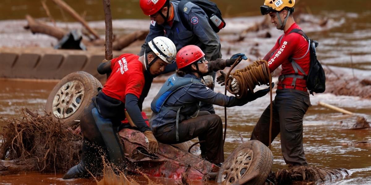Exames de sangue em bombeiros de Brumadinho detectam contaminação por metais