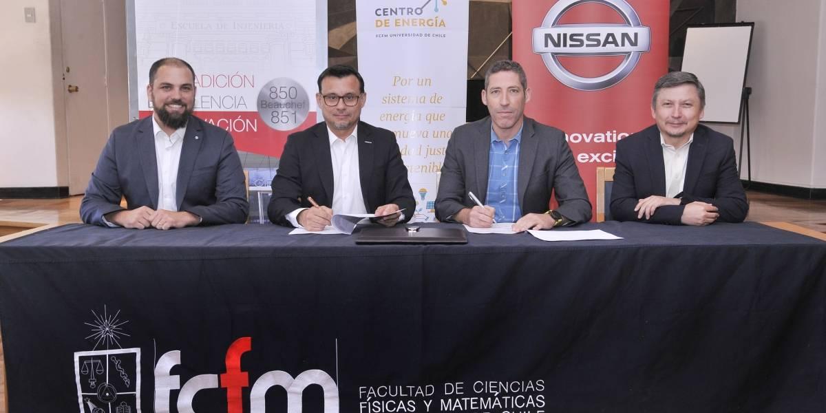 Nissan y el Centro de Energía U de Chile promueven la electromovilidad