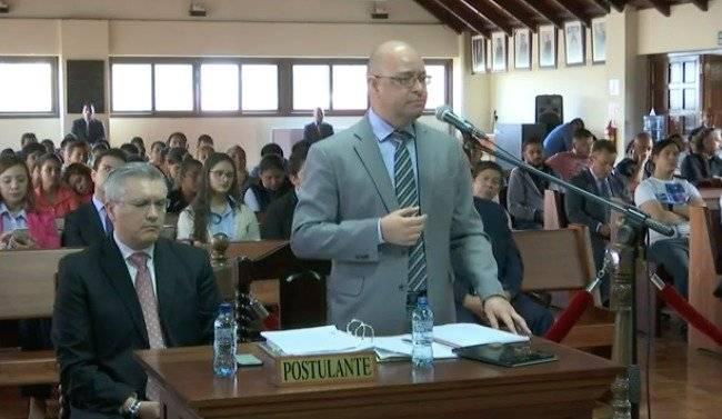abogado Álvaro Enrique del Cid, representante de la Cámara de Comercio