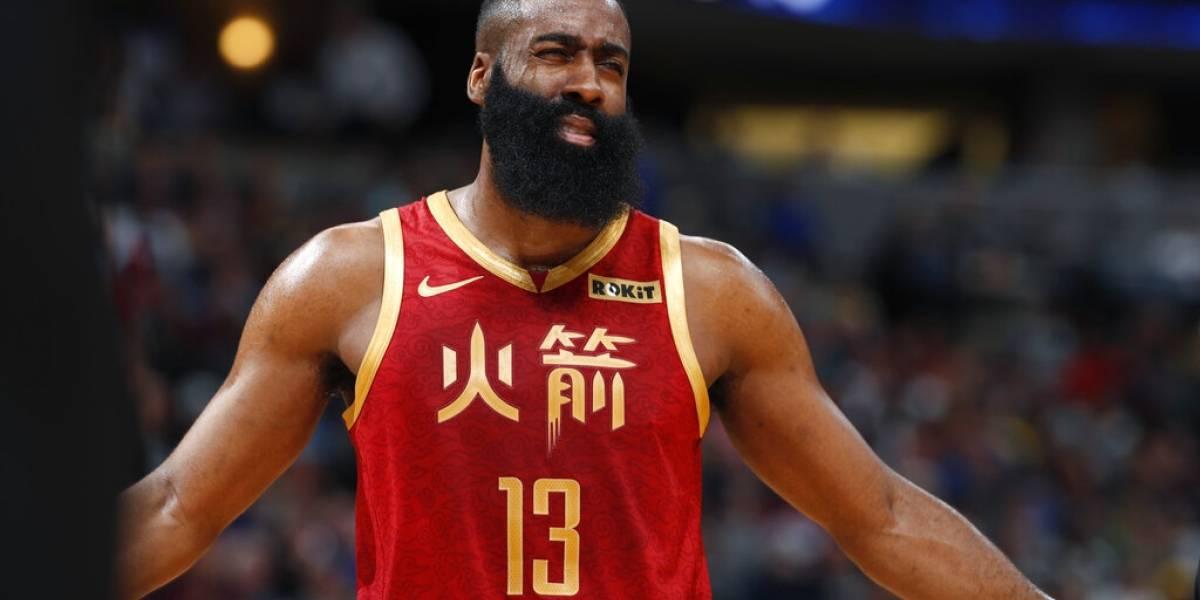 Harden sigue imparable y le da otra victoria a sus Rockets