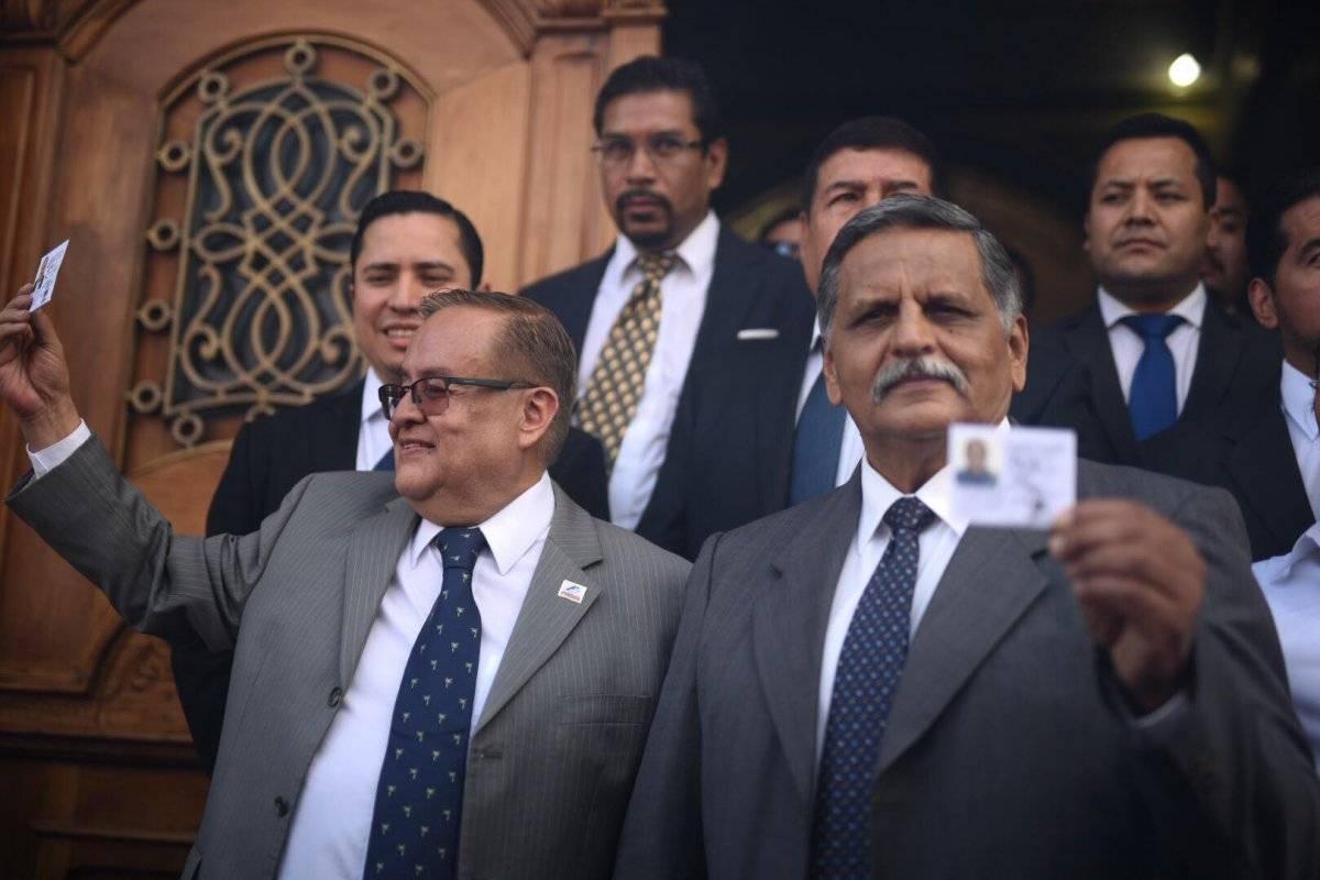 José Mauricio Radford y Manuel Abundio Maldonado son los candidatos a la presidencia y vicepresidencia de Fuerza. Foto: Edwin Bercián